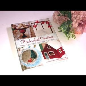 HANDCRAFTED CHRISTMAS HARDCOVER BOOK